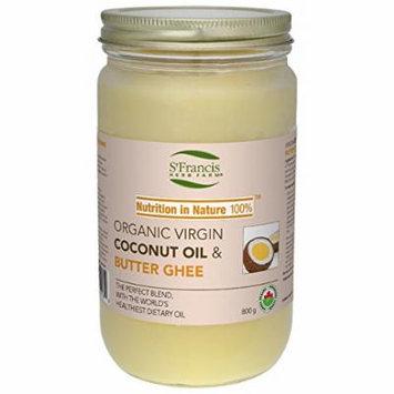 Coconut Oil & Butter Ghee Brand: St Francis