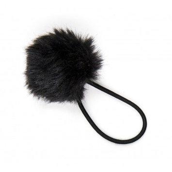 Twistband Pom Pom Hair Tie - Midnight