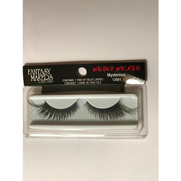 Fantasy Makers Wildly Wicked Thick Black Long False Eyelashes - Mysterious