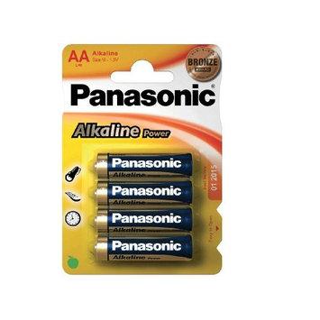 Panasonic Alkaline, Aa Pack 4