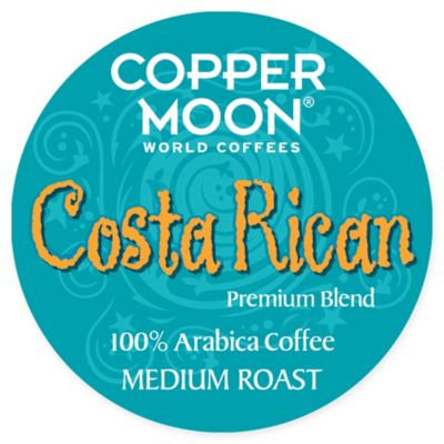 Copper :moon Copper Moon AromaCup Coffee for K-Cup(R) Brewers - Costa Rican - 20ct