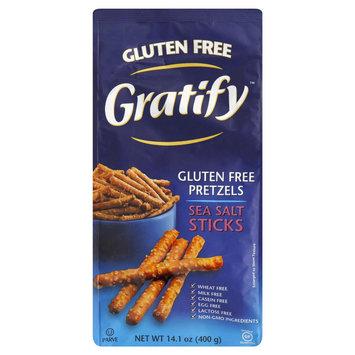 Gratify Salt Pretzels - 14.1 oz (Pack of 6)