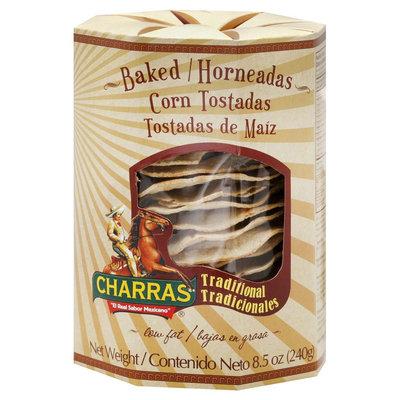Charras Corn Baked Corn Chips 8.5 oz 8 pk
