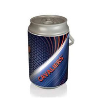 Picnic Time 686-00-000-594-0 Mega University of Virginia Cavaliers Digital Print Can Cooler in Silver/Gray