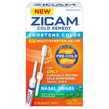 Zicam Cold Remedy Nasal Swabs - 20 Count