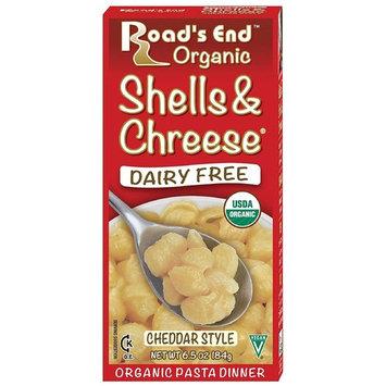 Road's End Organics Shells & Chreese, Organic, 6.5-Ounce Boxes