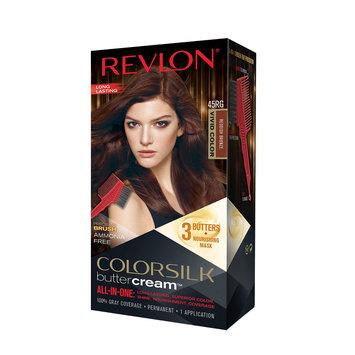 Revlon Luxurious Colorsilk Buttercream Haircolor Vivid Colors Collection - 45RG Vivid Bright Bronze - 7.3 oz