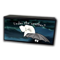 Caravelle Designs TC-3012 Under The Weather Tissue Box Cover