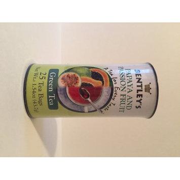 Boston Tea Company Bentley's papaya and passion fruit green tea
