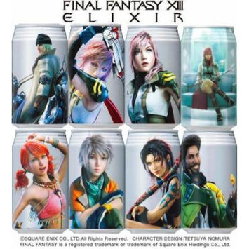 Final Fantasy XIII Potion Elixir Energy Drink Version 1 (1 random can)