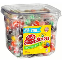 Bob's Sweet Stripes Soft Fruity Candy, 200 count, 34.5 oz