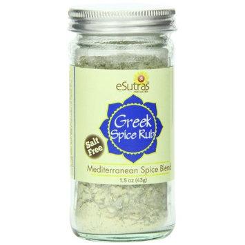Esutras Organics Greek Spice (no Salt), 1.5 Ounce