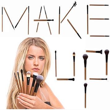 Iluminate Essentials iLuminate 22pc Makeup Brushes Set, Premium Professional Makeup Brushes, Brush Set Only