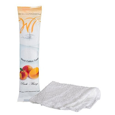 Moist Terry Cotton Refreshment Towel (Pack of 10) (10