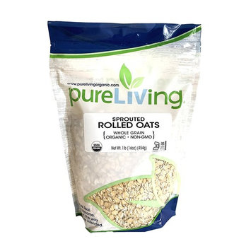 Pure Living - Organic Sprouted Rolled Oats - 16 oz