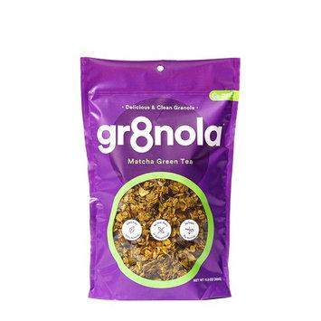 gr8nola Granola Cereal Healthy Breakfast or Snack, Non GMO, Vegan, Low Glycemic with Coconut Oil - MATCHA GREEN TEA 11.5 oz [MATCHA GREEN TEA]