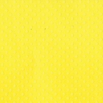 Bazzill Dotted Swiss Cardstock 12X12-Lemon Zest