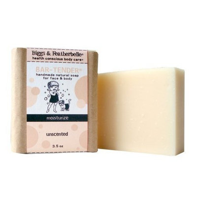 Bigss & Featherbelle Soap Bar, Bar-Tender, 3.5 Ounce (Pack of 2) by Biggs & Featherbelle