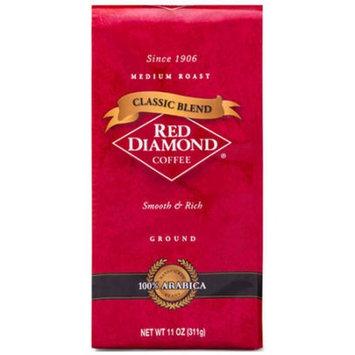 Red Diamond Coffee Classic Blend Medium Roast Ground Coffee, 11 oz