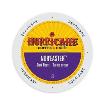 Single Cup Coffee Hurricane Coffee And Tea Nor'Easter, Rainforest Alliance, Single Serve Cup Portion Pack for Keurig K-Cup Brewers
