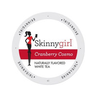 Single Cup Coffee Skinnygirl Cranberry Cosmo White Tea in Single-serve Portion Pack for Keurig K-Cup Brewers