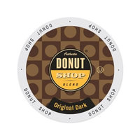 Single Cup Coffee Authentic Donut Shop Blend Original Dark, Single Serve Cup Portion Pack for Keurig K-Cup Brewers