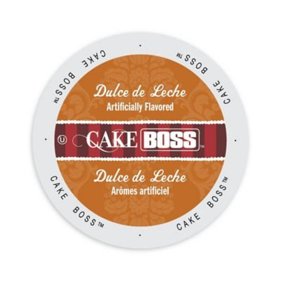 Single Cup Coffee Cake Boss Coffee Dulce De Leche, Single Serve Cup Portion Pack for Keurig K-Cup Brewers