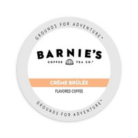 Single Cup Coffee Barnie's Coffee Kitchen Cr me Br l e, Single Serve Cup Portion Pack for Keurig K-Cup Brewers