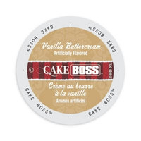 Single Cup Coffee Cake Boss Coffee Vanilla Buttercream, Single Serve Cup Portion Pack for Keurig K-Cup Brewers