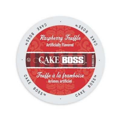 Single Cup Coffee Cake Boss Coffee Raspberry Truffle Single-serve Cup Portion Pack for Keurig K-Cup Brewers