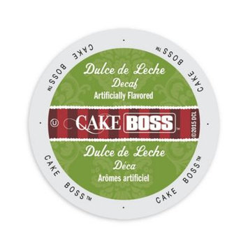 Single Cup Coffee Cake Boss Coffee Dulce De Leche Decaf, Single Serve Cup Portion Pack for Keurig K-Cup Brewers
