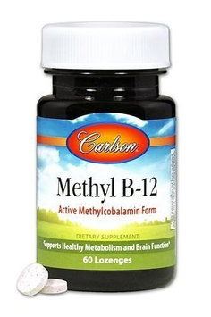 Methyl B-12 Carlson Laboratories 60 Tabs
