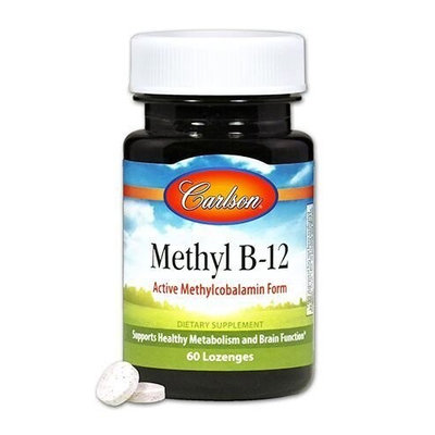 Methyl B-12 Carlson Laboratories 60 Tabs