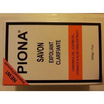 Piona Exfoliating & Brigtening Soap 7oz - Camomile Oil - Jojoba Oil - Vitamin E - Aloe Very Extra - By Cherrybargains [Regular]