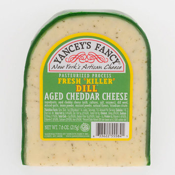 Fun Flavored Cheddars by Yancey's Fancy - Dill Pickle Cheddar (7.6 ounce)
