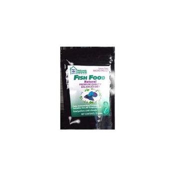 Kordon Home Grown Ponics 96052 Fish Food - Natural 0.5mm. 75 Gram Bag - Pack of 12