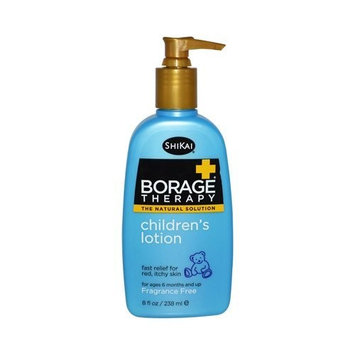 Pack of 2 x Shikai Borage Therapy Children's Lotion Fragrance-Free - 8 fl oz by ShiKai