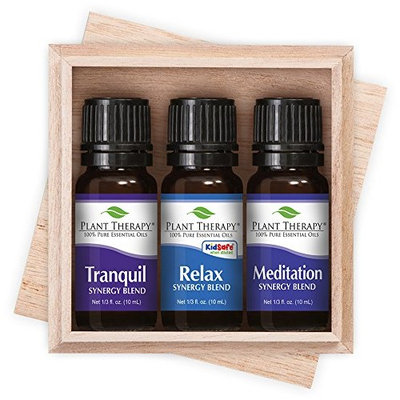 Plant Therapy Relaxation Synergy Set 100% Pure, Undiluted, Therapeutic Grade