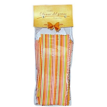 Donne Del Grano Donne Del Grano Natural Colored Plaid Lasagna Pasta From Donne Del Grano, 17.8-Ounce Packages