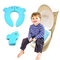 Toilet Potty Training Seat Cover,Kids Toddler Baby Seat Trainer Bathroom Children Urinal Pee Chair Baby Frog Step Ladder Boys Girl Tool