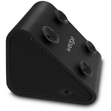 Antec WEDGE-BLK Compact Bluetooth Speaker and Mobile Stand - Black