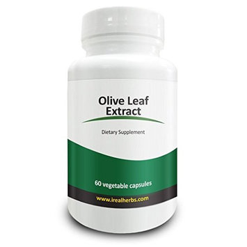 Real Herbs Olive Leaf Extract - All the Benefits of Olive Leaf Extract, standardized to 20% oleurope