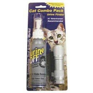 Urine off CUOPT4015 Urine off Cat/Kitten Combo Sprayer WithLed, 4-Ounce