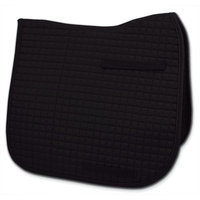 Passport Saddle Pads Passport Square Quilted Dressage Saddle Pad