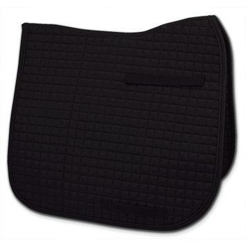 Passport Saddle Pads Passport Square Quilted Dressage Saddle Pad