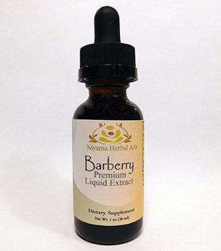 Niyama Herbal Arts Barberry Root Bark Liquid Extract (1 ounce) Premium Extract