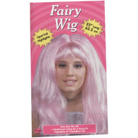 Hollywoodtoysandcostumes WMU 563486 Crystal Wig with Shimmering - Light Pink