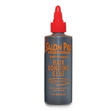 [Salon Pro] Exclusive Anti-Fungus Hair Bonding Glue (4 oz): Beauty