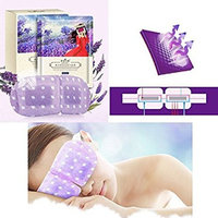 Hot Sale!Steam Eye Mask,Nmch Eye SPA Hot Warm Eye Patch Steam Eye Pillow for Tranquil Relaxation, Lavender Fragrance, 10pcs (10 pcs, PURPLE)