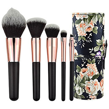 Makeup Brush Set - 5 Makeup Brushes Eyebrow Eyeshadow Brush Blush Foundation Brush